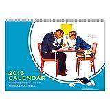 A.P.J. ノーマン・ロックウェル 2016年 カレンダー 壁かけ No.072 1000066748