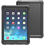 iPad Air 2 Case - Poetic Apple iPad Air 2 Case [Turtle Skin Series] - Silicone Case for Apple iPad Air 2 (2014) Black (3-Year Manufacturer Warranty From Poetic)