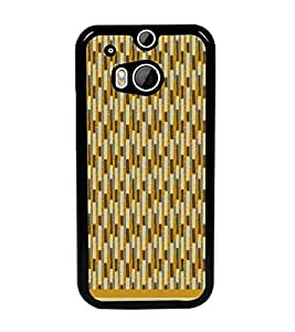 PrintDhaba Pattern D-1571 Back Case Cover for HTC ONE M8 EYE (Multi-Coloured)