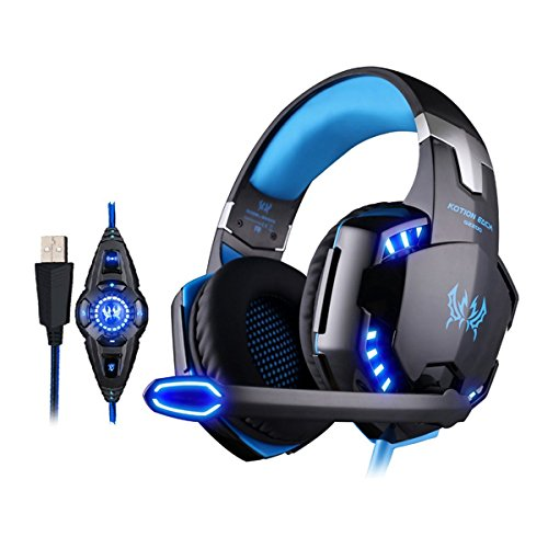 Kotion Each G2200 7.1 Channel USB Over Ear Gaming Headset (For PC)