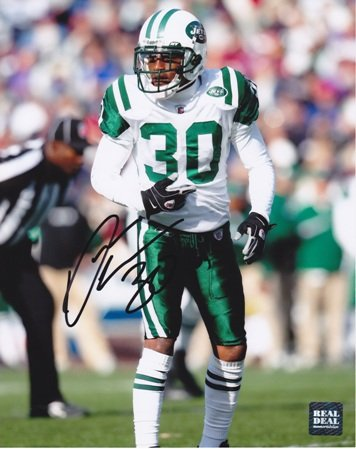 Drew Coleman Autographed / Hand Signed New York Jets 8x10 Photo