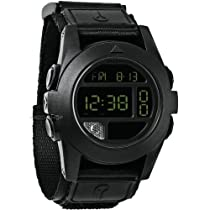 Nixon Baja Digital Black Polycarbonate Mens Watch A489001