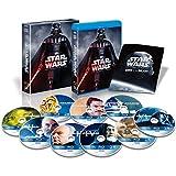 スター・ウォーズ コンプリート・サーガ ブルーレイコレクション(9枚組) (初回生産限定) [Blu-ray] -