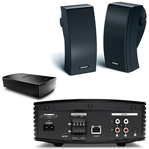 Bose SoundTouch SA-5 Bluetooth & WiFi Enabled Amplifier w/ 251 SE Outdoor Speaker System (Pair) Black (Outdoor Speakers Bose compare prices)