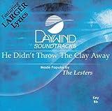 echange, troc Lesters - Karaoke: He Didnt Throw the Clay Away