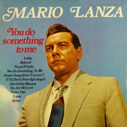 Original album cover of You Do Something to Me by Mario Lanza