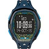 Timex Unisex Ironman? Sleek 150 Tapscreen Full-Size Resin Strap Blue/Lime Watch