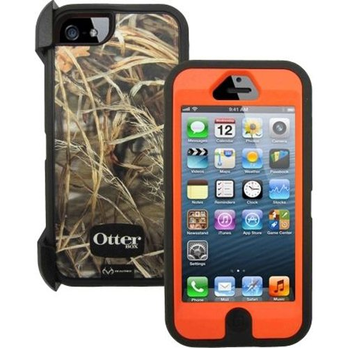 OtterBox Defender Series Case for iPhone 5 - Retail Packaging - Max 4HD Blazed Orange