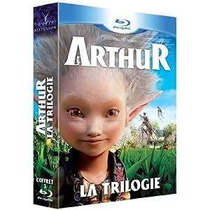 Arthur : La trilogie de Luc Besson [3 dvd / 3 Blu-ray] [Pack combo Blu-ray