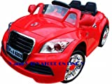 KID'S RIDE ON RECHARGEABLE 12V AUDI STYLE RED CAR WITH 4 WAYS PARENTAL REMOTE CONTROL+MP3 AUDIO INPUT