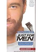 """""""Just for men beard,moustache,sideburns colour gel"""