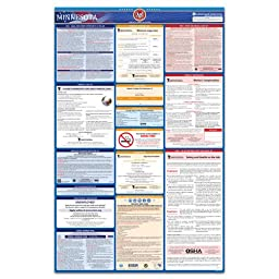 2016 Minnesota State, Federal, and OSHA All-In-One Labor Law Poster - Laminated & 100% Compliant