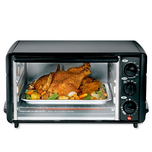 German Countertop Oven : Hamilton Beach 6 Slice Toaster Oven