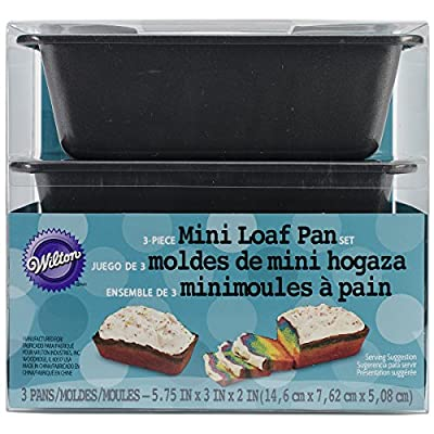 Wilton Mini Loaf Pans, 3-Pack