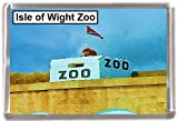 Isle of wight zoo Gift Souvenir Fridge Magnet