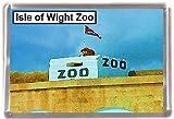 Isle of wight zoo Gift Souvenir Fridge Magnet
