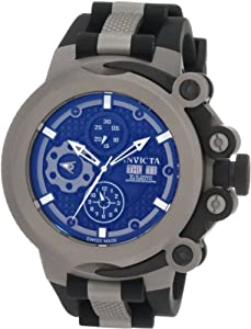 Invicta Men's 0959 Force Automatic Chronograph Titanium Black Rubber Watch