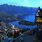 LANDSCAPE OF QUEENSTOWN CITY NEW ZEALAND AT NIGHT 24