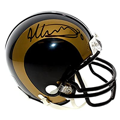 Todd Gurley Autographed Los Angeles Rams Mini Helmet - JSA Certified Authentic - Autographed Mini Helmets