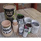 Eco Pot Maker - Make plant and seedling pots from newspaper