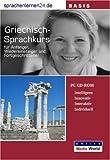 echange, troc Udo Gollub - Sprachenlernen24.de Griechisch-Basis-Sprachkurs CD-ROM für Windows/Linux/Mac OS X (Livre en allemand)