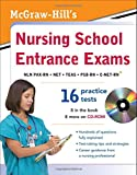 img - for McGraw-Hill's Nursing School Entrance Exams with CD-ROM book / textbook / text book