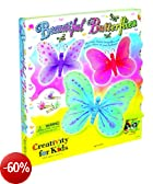 Creativity For Kids - Kit per decorare farfalle