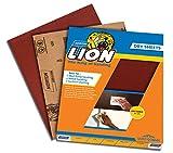 Norton Lion Open Kote Dry Sheet Abrasive Paper Sheets (Red)