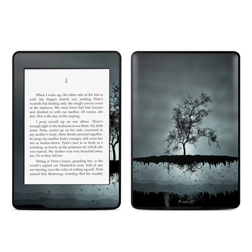Kindle Paperwhite Skin Kit/Decal - Flying Tree Black - Vlad Studio