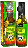 Blair's Jalapeno Death Sauce with Tequila & Skull Key Chain - 5 oz