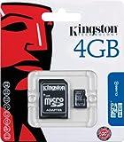 Kingston SDC4/4GB 4GB SDHC Micro Memory Card