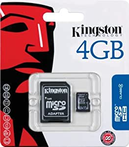 Kingston Micro Secure Digital 4096 MB HC e adapter