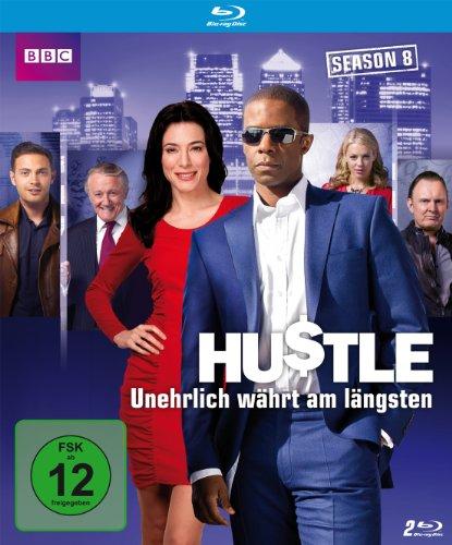 Hustle - Unehrlich währt am Längsten - Season 8 BluRay [Blu-ray]