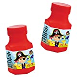 Amscan 397248 Little Pirate Mini de burbujas