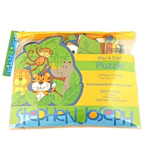 Stephen Joseph Zoo Shaped Jigsaw Puzzle