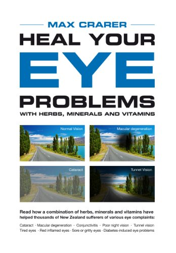 Heal Your Eye Problems with Herbs, Minerals and Vitamins