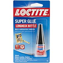 Loctite Super Glue Liquid 5-Gram Longneck Bottle (230992)
