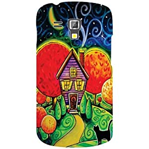 Back Cover For Samsung Galaxy S Duos 7582 -(Printland)