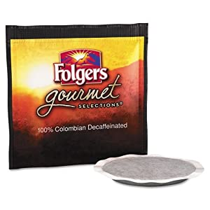 Folgers FOL63101 Gourmet Selection Colombian Decaffeinated Coffee Pods (Pack of 18) from J.M. Smucker Company