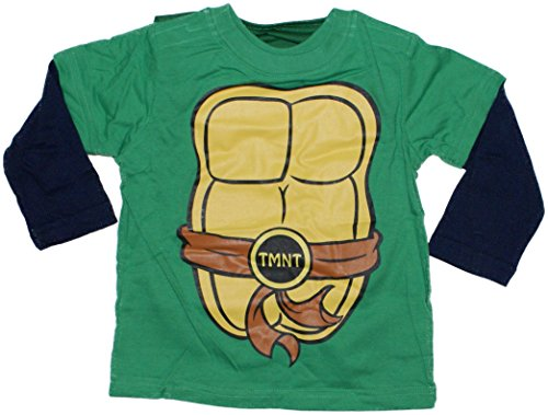 Teenage Mutant Ninja Turtles TMNT Toddler Costume Longsleeve Cape T-Shirt