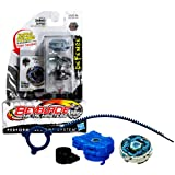 Hasbro Year 2011 Beyblade Metal Masters High Performance Battle Tops - Defense WD145RS BB-82A GRAND CETUS with Face Bolt, Cetus Energy Ring, Grand Fusion Wheel, WD145 Spin Track, RS Performance Tip and Ripcord Launcher Plus Online Code