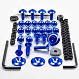 Aluminium Fairing Kit Suzuki TL1000R Blue