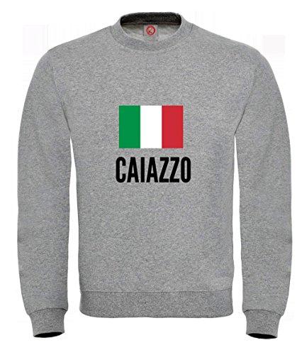 Felpa Caiazzo city Gray
