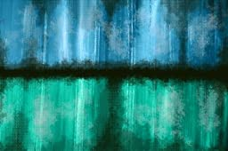 Maxwell Dickson ''Rain Mist'' Modern Abstract Pop Art Canvas Print Artwork