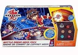 Bakugan Battle Arena Mega Set (6 Random Bakugans)