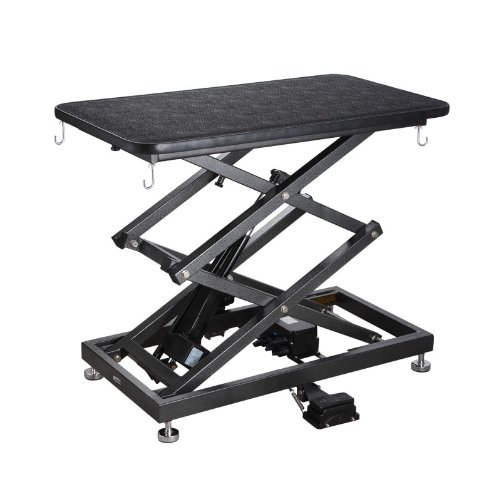 Accordion Lift Electric Grooming Table By Comfortgroom