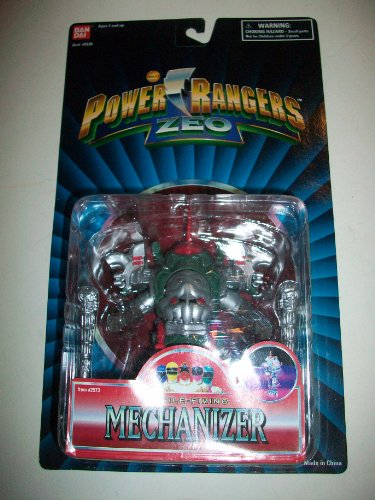 Picture of Bandai Power Rangers Zeo 1996 Evil Space Alien Missile Firing Mechanizer NEW Action Figure 5 1/2
