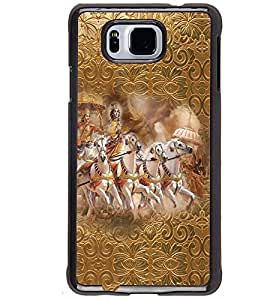 PRINTVISA Religious Krishna Case Cover for Samsung Galaxy Alpha G850