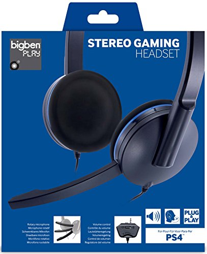 BigBen Interactive PS4 Gaming Headset Headset