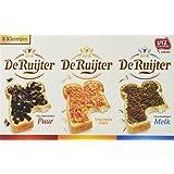 De Ruijter 8 Kleintjes Mini Box's (De Ruyter Hagelsag (sprinkels)Melk & Puur, Vlokken Melk & Puur en Vruchtenhagel) 1 box with 8 small Assortment
